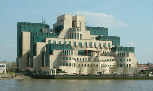 Edificio del MI6 en Vauxhall Cross, Londres