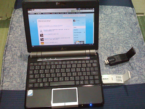 EeePC 901 With BandLuxe C120
