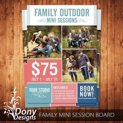 BUY 1 GET 1 FREE Family Mini Session Outdoor Mini by
