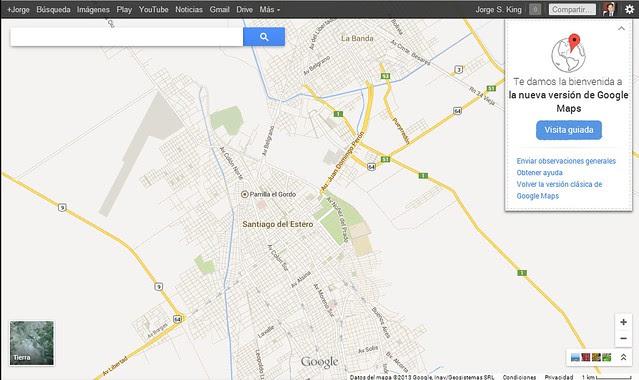 Nuevo Google Maps 2013