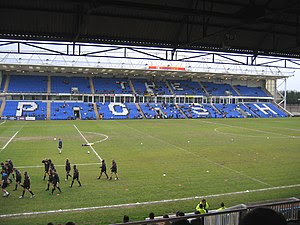 English: Peterborough United's South Family St...