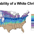 Here are your odds of experiencing a White Christmas this year