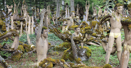 The Factory Worker Who Spent 50 Years Filling a Forest with Otherworldly Sculptures