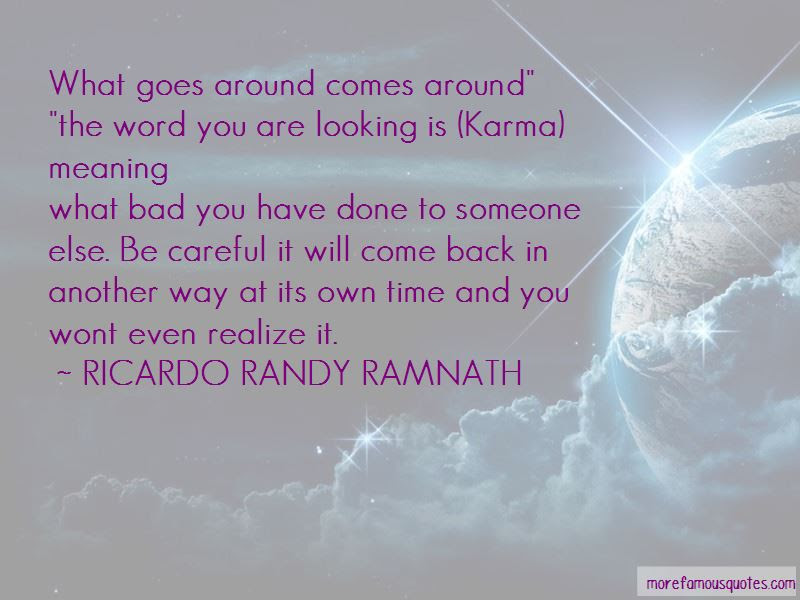 Karma Meaning Quotes Top 5 Quotes About Karma Meaning From Famous