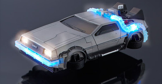 Flying DeLorean iPhone case would make Marty McFly jealous