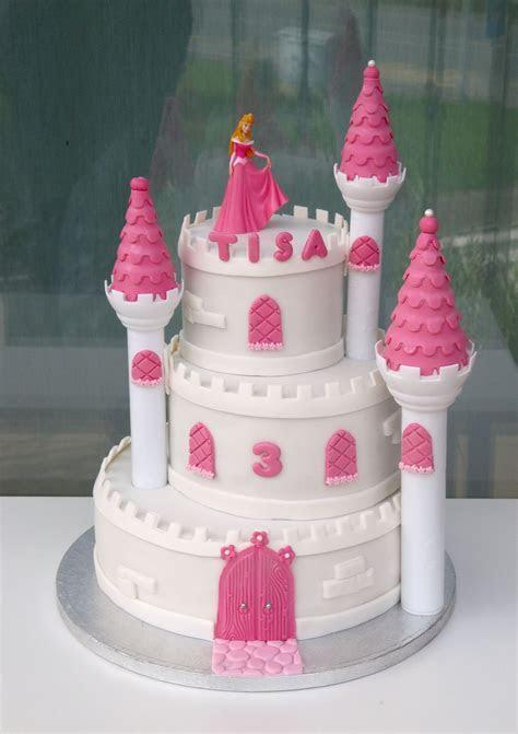 Princess castle cake   recipes   Castle birthday cakes