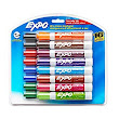 Amazon.com : Expo 2 Low-Odor Dry Erase Markers, Chisel Tip, 16-Pack, Assorted Colors (81045) : Office Products