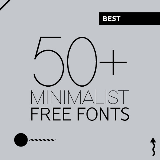 50+ Best Free Fonts for Minimalist Designs | Fonts | Graphic Design Junction