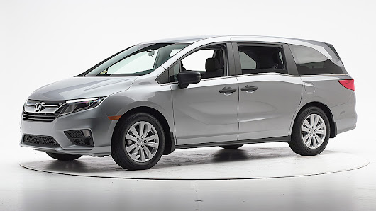 2018 Honda Odyssey earns Top Safety Pick+
