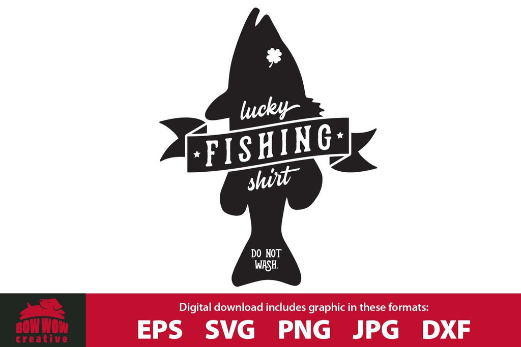 Download Lucky Fishing Shirt Funny Fishing Svg Cutting File So Fontsy
