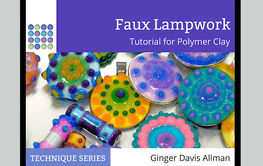 New Tutorial! Learn to make Faux Lampwork - The Blue Bottle Tree