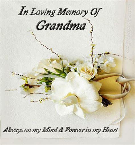 In Loving Memory Quotes For Grandma
