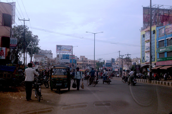 MG Road in the day