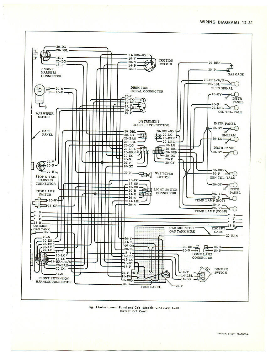 1966 Nova Wiper Wiring Diagram