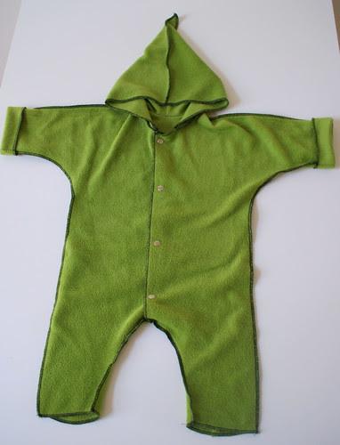 groen fleeceke