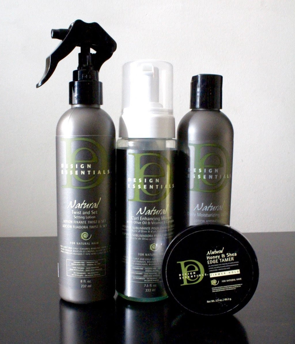 Textured Twist Out With Design Essentials Natural Curl Care Collection