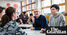 Tim Cook: 'I don't want my nephew on a social network' | Technology | The Guardian