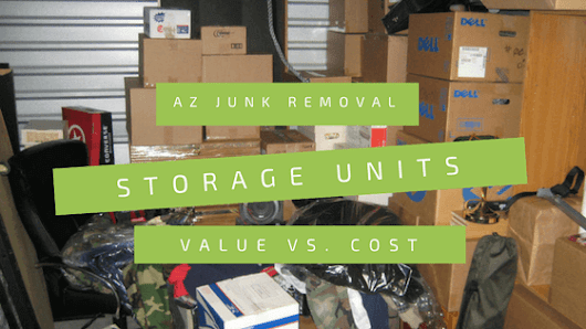 Save big bucks when you cleanout that storage unit!