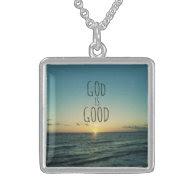 God is Good Quote Custom Jewelry