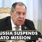 Russia has announced the suspension of the NATO liaison mission |WION News |English News |World News