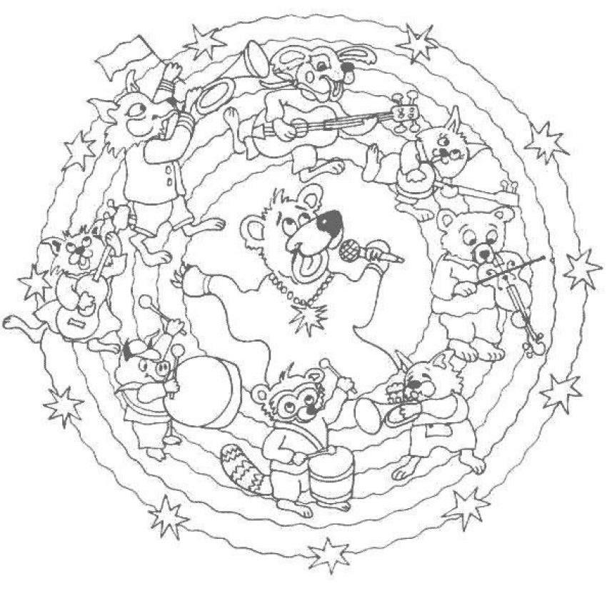 Best Dibujos Para Colorear Mandalas Animales Image Collection