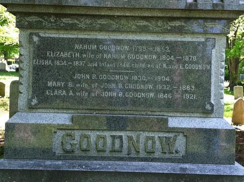 Goodnow Monument by midgefrazel