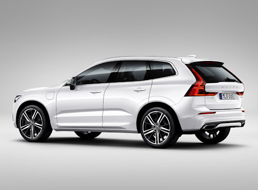first new volvo XC60 SUV rolls off the production line in torslanda, sweden