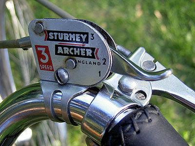 The Rudge's S-A shifter