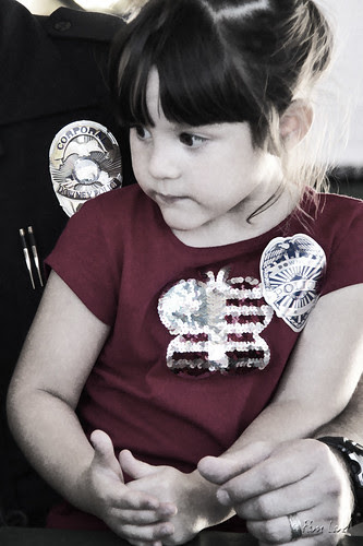 Downey 9/11 Program young girl