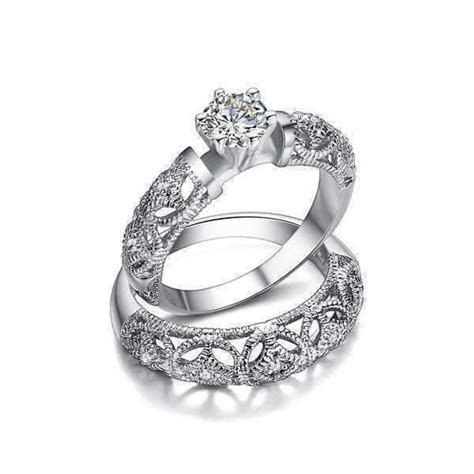 ON SALE   Art Deco Inspired Milgrain Filigree Band and CZ