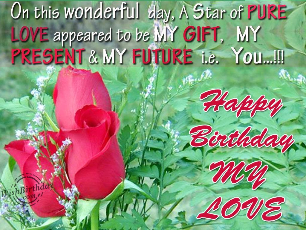 Lovely And Interesting Birthday Wishes To Send Your Wife On Her