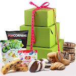 Be Mine Valentine's Day Gluten Free Gift Tower Gift Basket