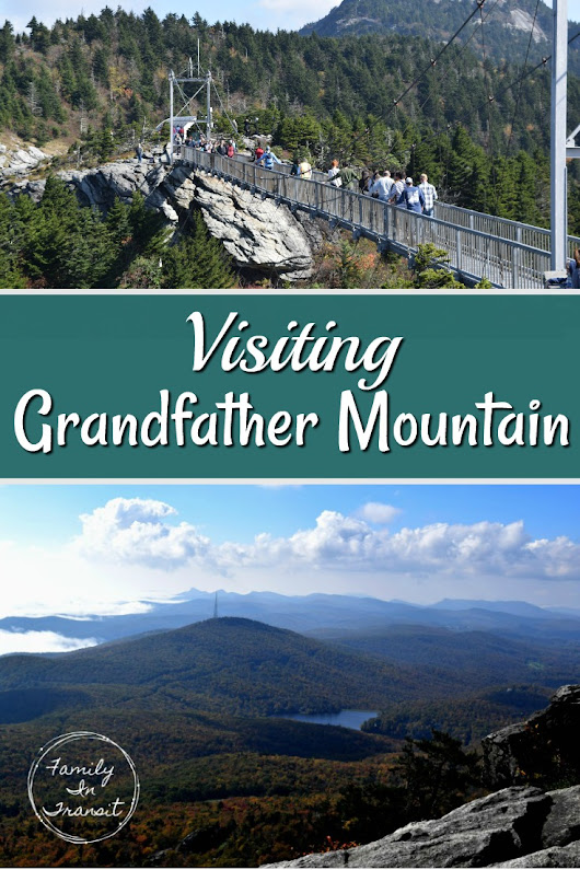 Visiting Grandfather Mountain