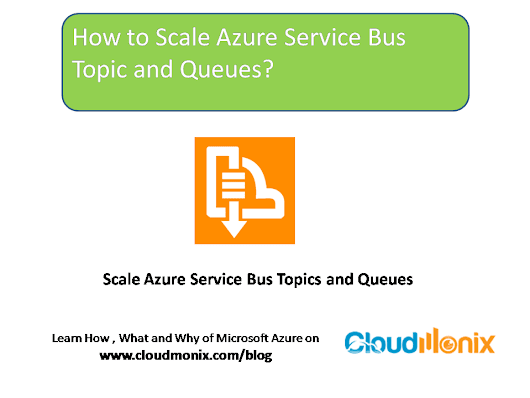 How to Scale Azure Service Bus Topic and Queues?