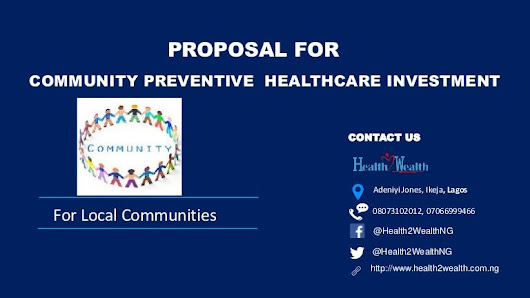 Community Preventive Healthcare Investment