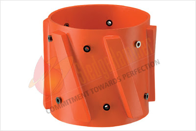 Welded Spiral Vane Solid Rigid Centralizer Fixed, Rigid Centralizer
