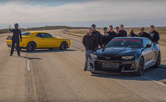 Watch a Chevrolet Camaro Go 217 MPH » AutoGuide.com News