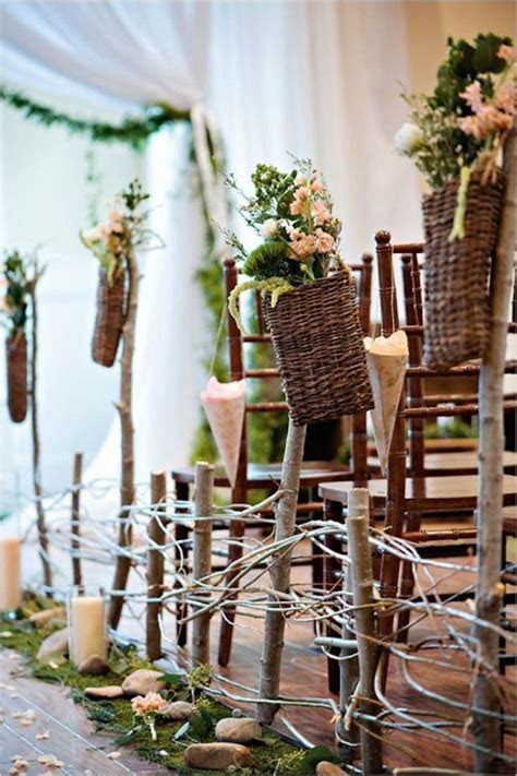 Amazing Wedding Ceremony Aisle Decor Inspiration   crazyforus