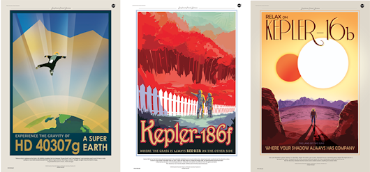 NASA Made These Gorgeous Travel Posters For Actual Exoplanets