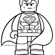 Print out the lego movie Superman coloring pages - Printable Coloring Pages For Kids