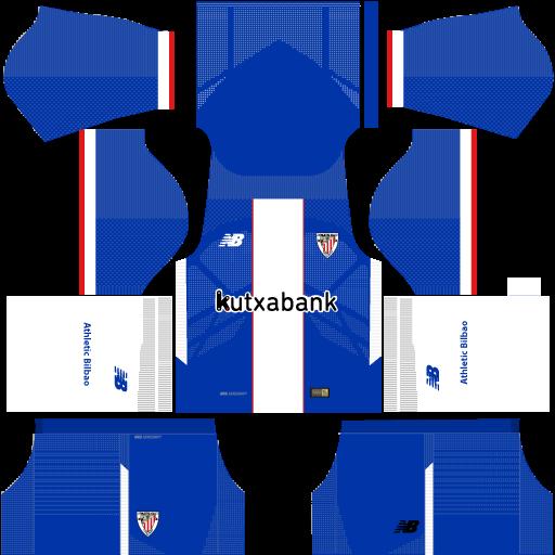 Athletic Bilbao Kits & Logo URL Dream League Soccer 2017-2018