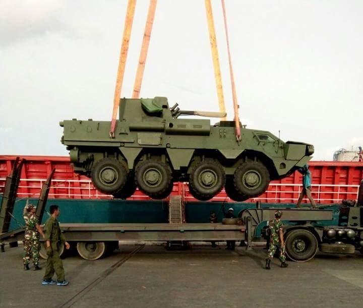 BTR-4M foto: Defensa Militar