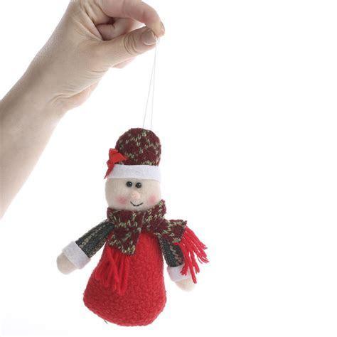 Plush Mrs. Claus Christmas Ornament   Christmas Ornaments
