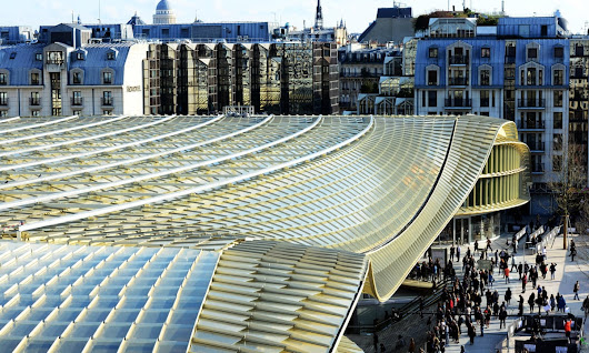 A custard-coloured flop: the €1bn revamp of Les Halles in Paris | Art and design | The Guardian