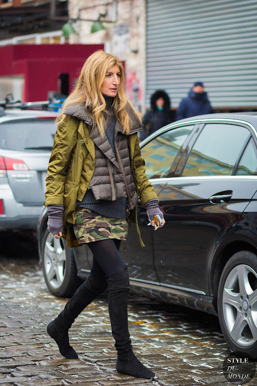 New York Fashion Week FW 2016 Street Style: Sarah Rutson