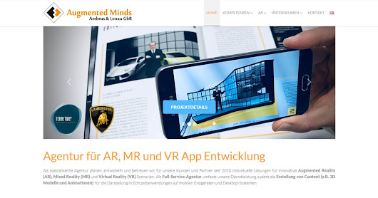 Augmented, Mixed & Virtual Reality Agency, App and 3D Developer