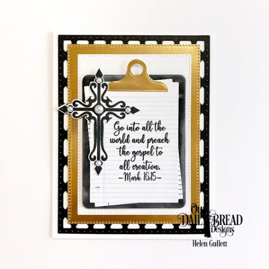 ODBD New Release Reminder: A Card For Sunday School Teacher