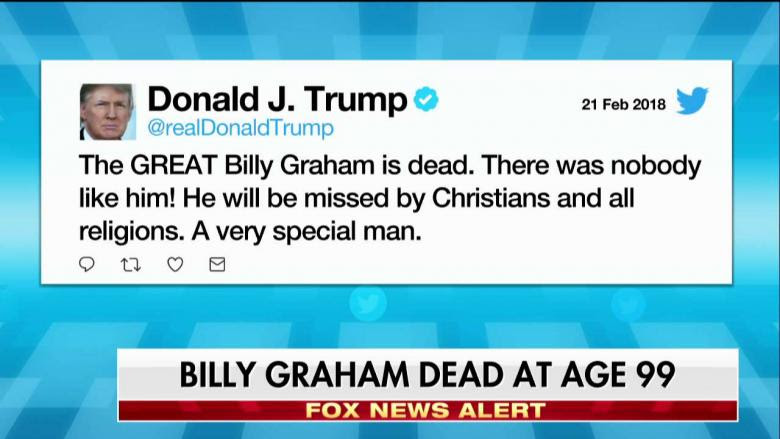 Image result for Liberals Attack Billy Graham After Death