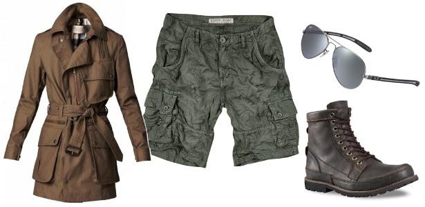 Peças de inspiração militar para o guarda-roupa masculino