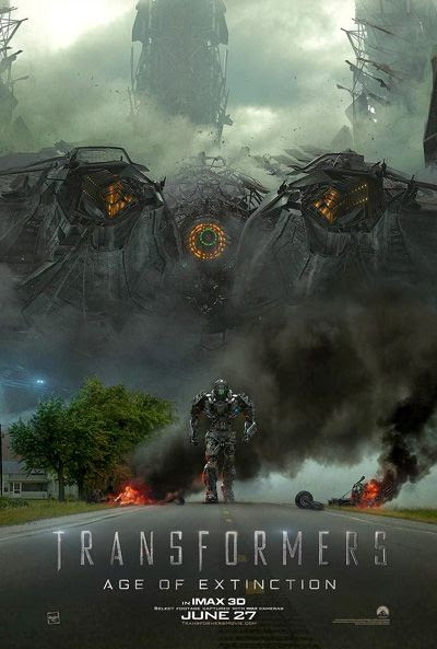 TRANSFORMERS: AGE OF EXTINCTION theatrical poster #2.